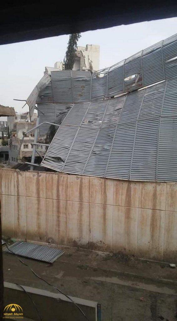 شاهد : هدم منزل علي عبدالله صالح في صنعاء