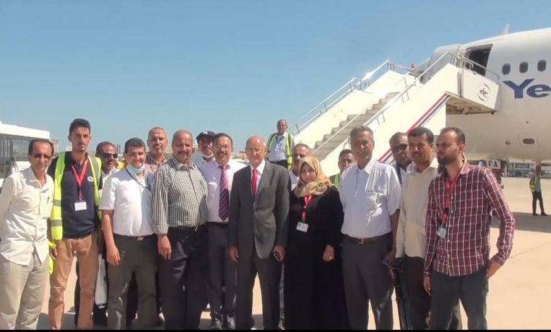 عودة طائرة المكلا عقب شهر من اعمال الصيانة في مطار الخرطوم
