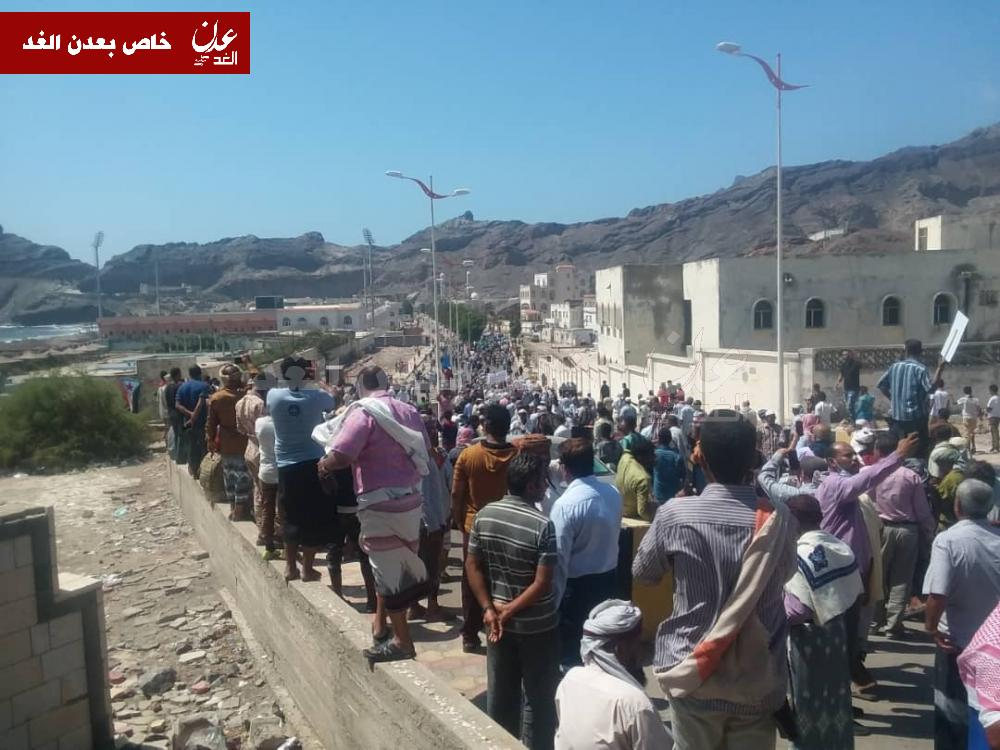 عاجل: سقوط قصر معاشيق في عدن