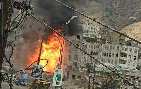 اخبار اليمن انفجار عنيف يهز محافظة تعز