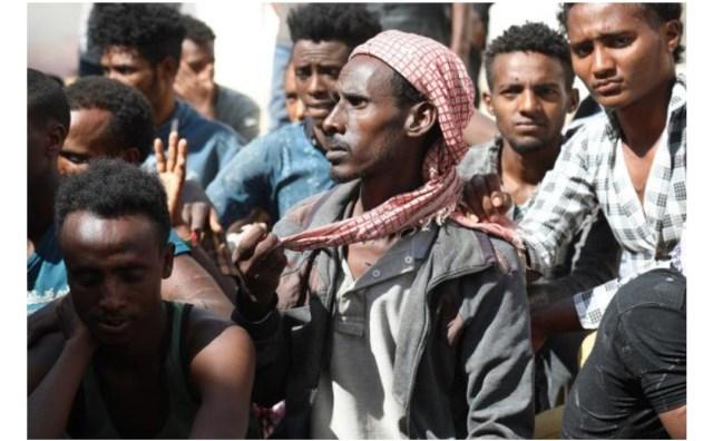 وصول أكثر من 1300 مهاجر إلى اليمن خلال شهرين