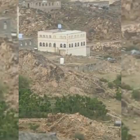 """تفجير منزل القيادي الحميقاني في الزاهر """"فيديو """""""