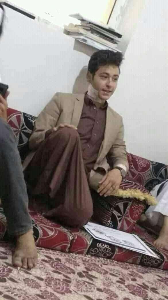 أول صورة للشعراني عقب محاولة اغتياله في العاصمة صنعاء