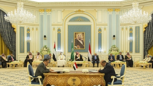 أول تعليق لحكومة الشرعية على البيأن السعودي الأخير بشأن إتفاق الرياض