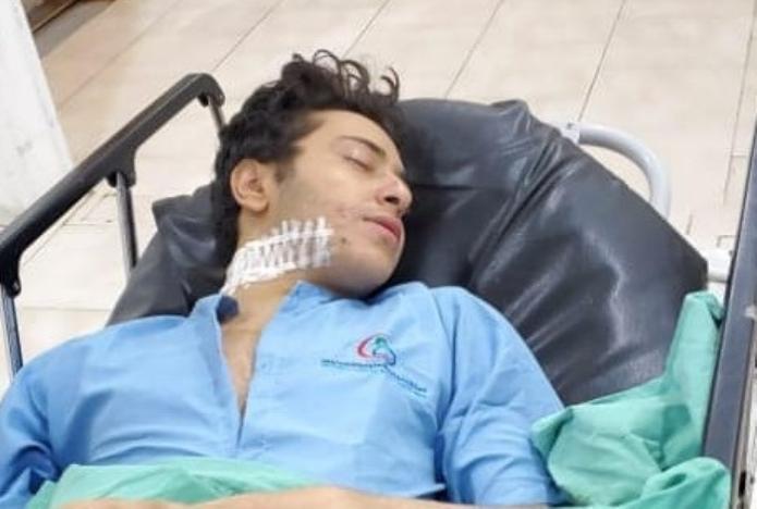 وزارة الداخلية في حكومة الحوثي توضح ملابسات الإعتداء على الفنان شهاب الشعراني وتكشف مصير الجاني